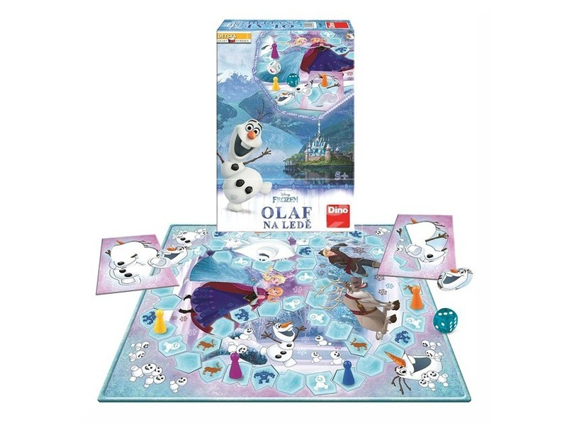 kép nagyítása Jégvarázs Olaf a jégen társasjáték