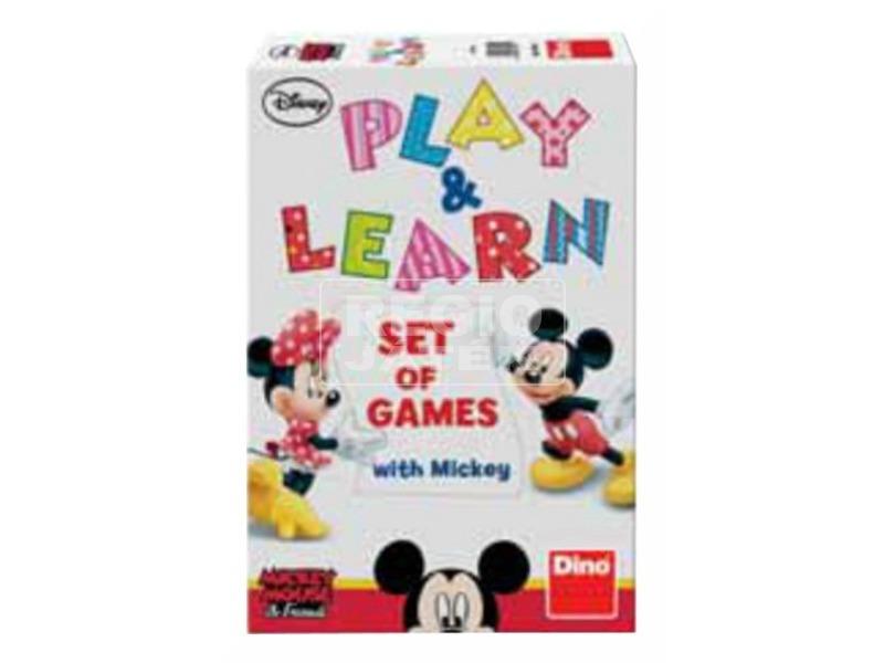 Mikiegér gyere és tanulj társasjáték