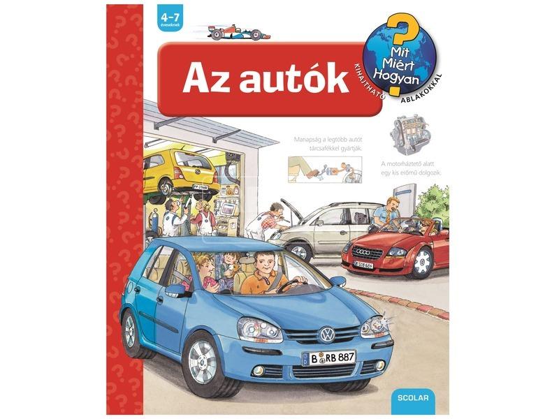 Az autók foglalkoztatókönyv