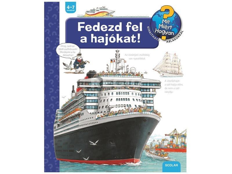 Fedezd fel a hajókat foglalkoztatókönyv