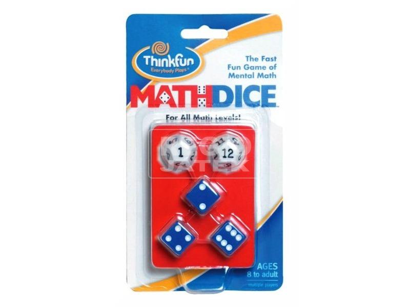 Math Dice egy kis matekocska társasjáték