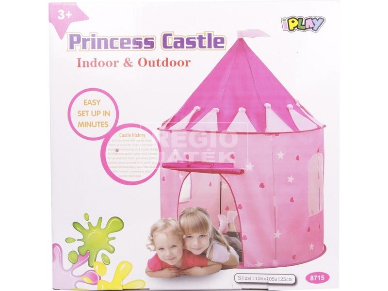 iPlay hercegnős játszósátor - rózsaszín