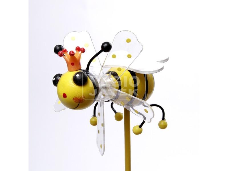 Méhecske szélforgó - 10 cm, többféle