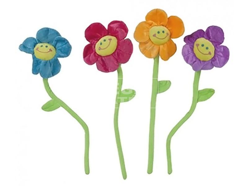 Plüss virág, 51 cm, 4 féle