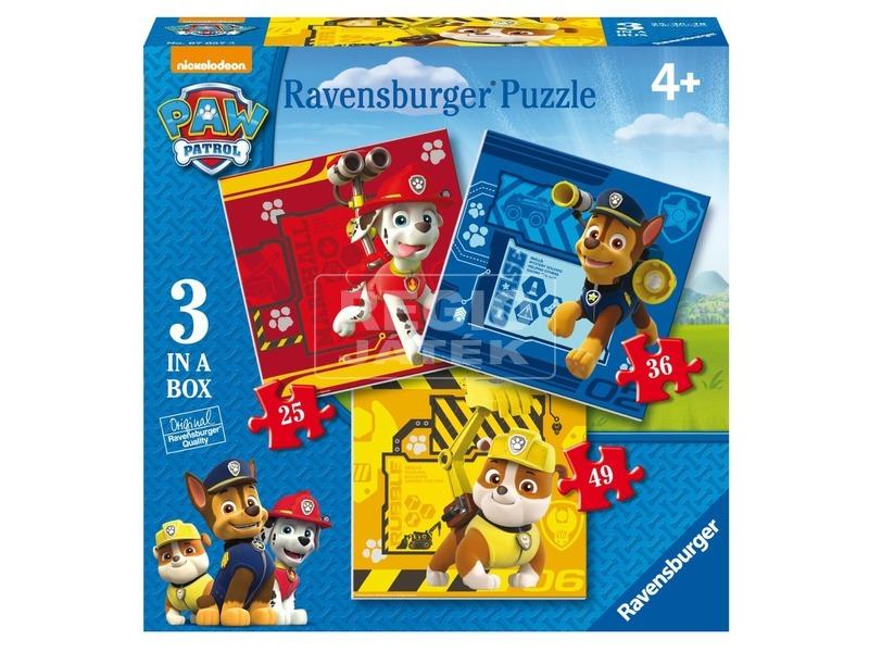 Mancs őrjárat 3 az 1-ben puzzle