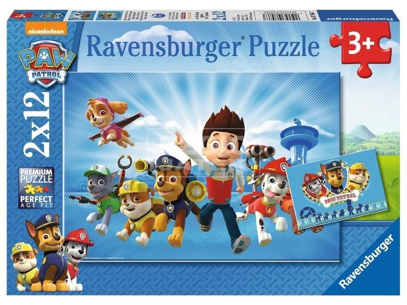 Mancs őrjárat és Ryder 2 x 12 darabos puzzle