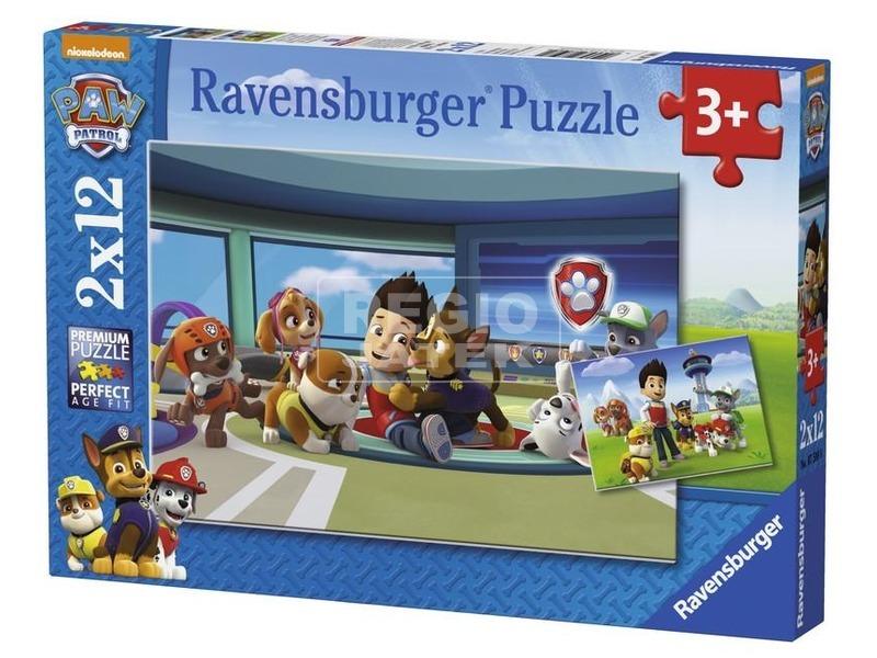 Mancs őrjárat 2 x 12 darabos puzzle