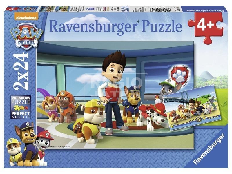 Mancs őrjárat jó szimat 2 x 24 darabos puzzle