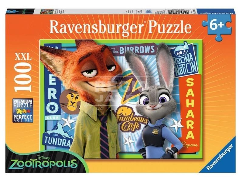 Zootropolis 100 darabos XXL puzzle