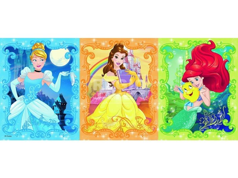 kép nagyítása Disney hercegnők csodaszép 200 darabos panoráma puzzle