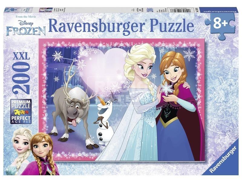 Jégvarázs testvéri szeretet 200 darabos XXL puzzle