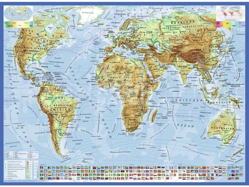 kép nagyítása Politikai világtérkép 300 darabos XXL puzzle