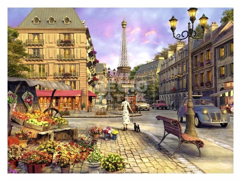 kép nagyítása Párizsi séta 500 darabos puzzle