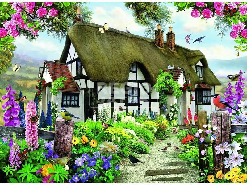 kép nagyítása Vidéki házikó 500 darabos puzzle