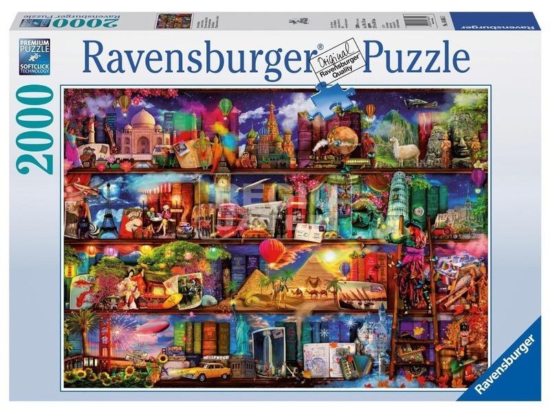 Könyvek világa 2000 darabos puzzle