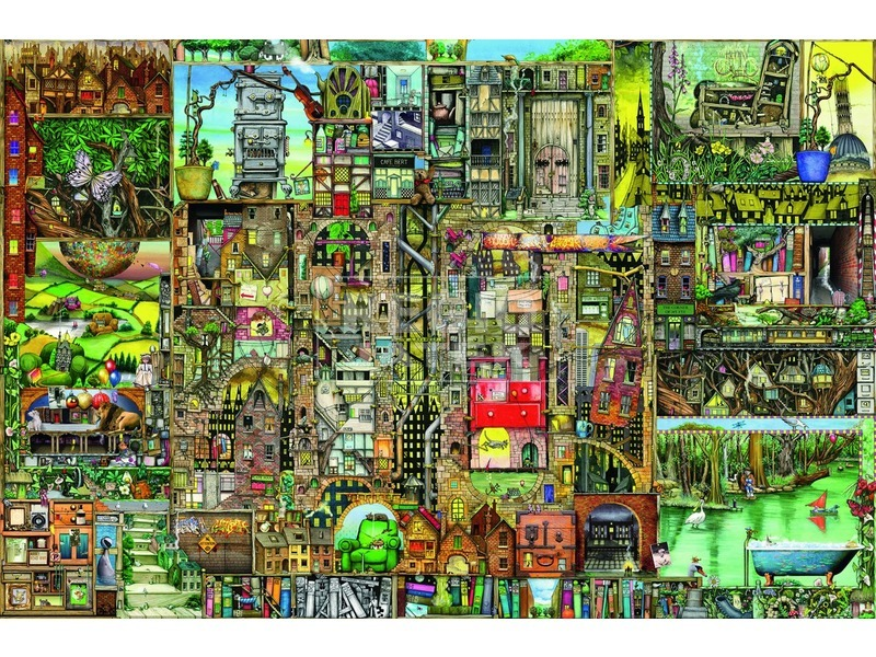 kép nagyítása Colin Thompson: Bizarr város 5000 darabos puzzle