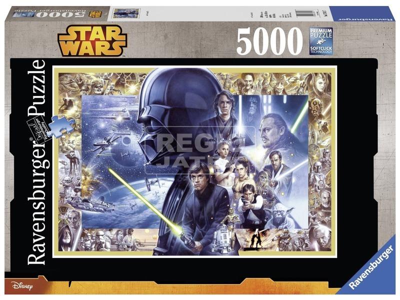 Star Wars: főszereplők 5000 darabos puzzle