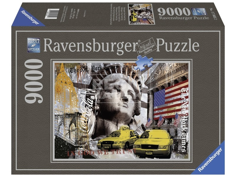 New York 9000 darabos puzzle