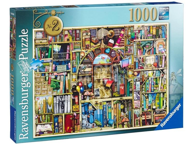 Colin Thompson: Bizarr könyvesbolt 1000 darabos puzzle