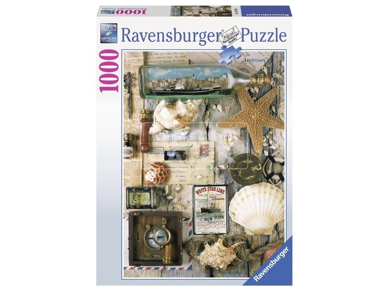 Tengerparti emlékek 1000 darabos puzzle