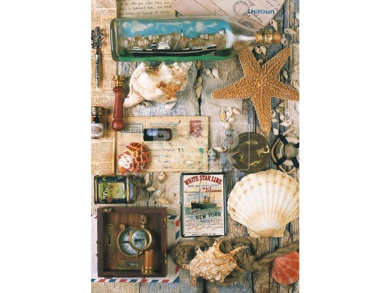 kép nagyítása Tengerparti emlékek 1000 darabos puzzle