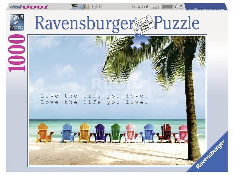 Tengerpart 1000 darabos puzzle