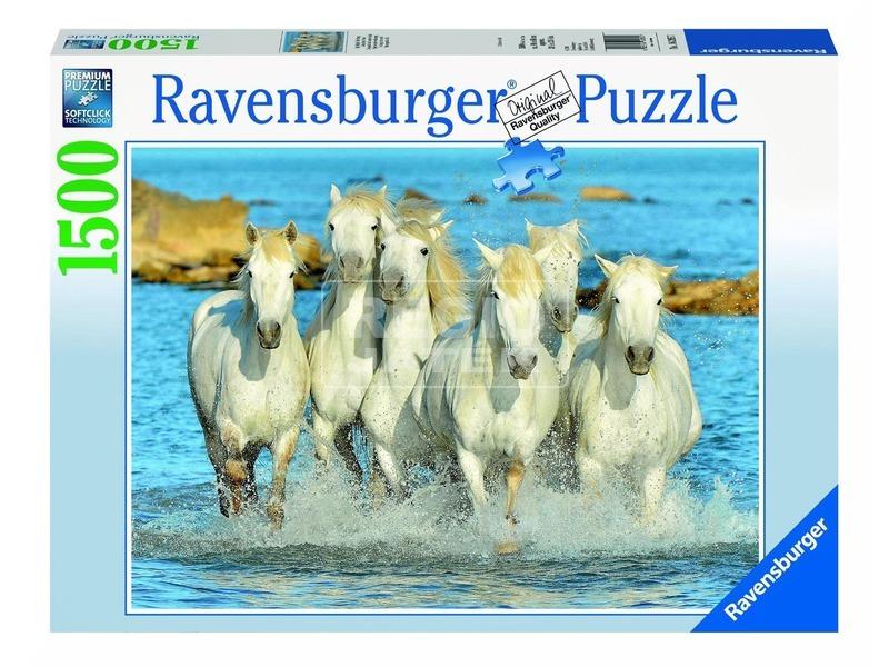 Lovak 1500 darabos puzzle