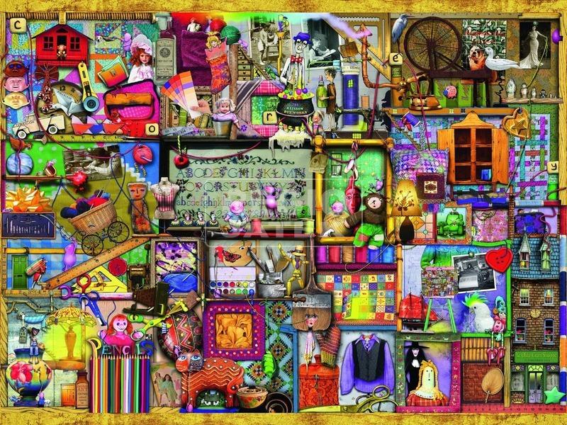 kép nagyítása Colin Thompson: Hobbi 1500 darabos puzzle