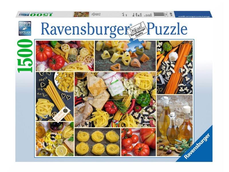 Tészták 1500 darabos puzzle