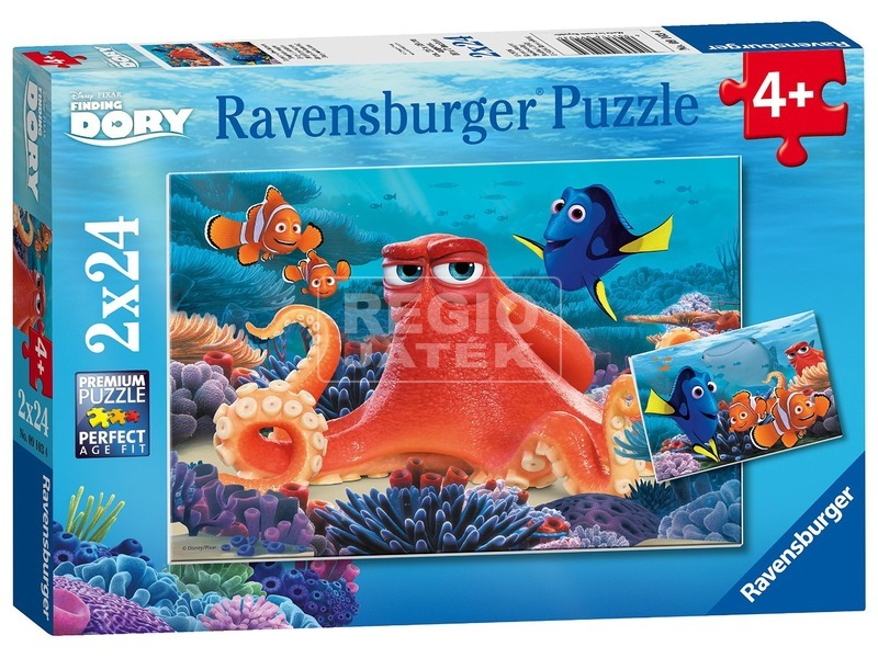 Szenilla nyomában 2 x 24 darabos puzzle