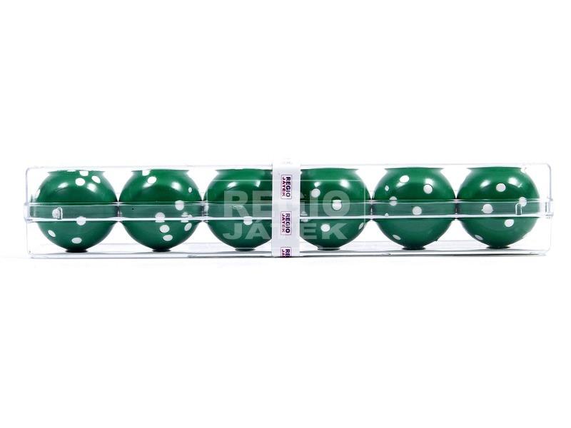 Golyó dobókocka 6 darabos készlet - többféle
