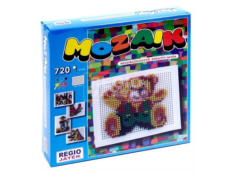 Mozaik képkirakó 720 darabos készlet