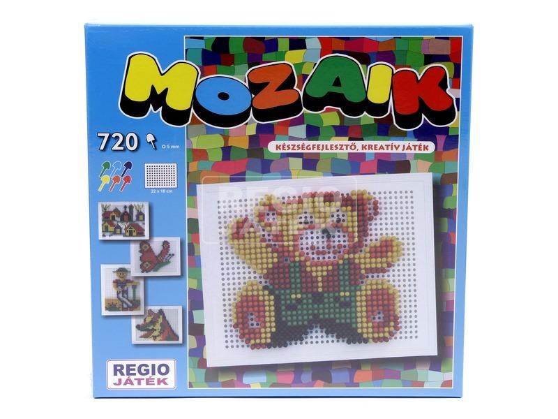 kép nagyítása Mozaik képkirakó 720 darabos készlet