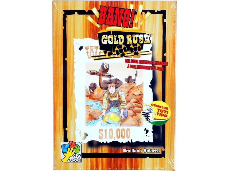 Bang! Gold Rush kiegészítő kártyajáték