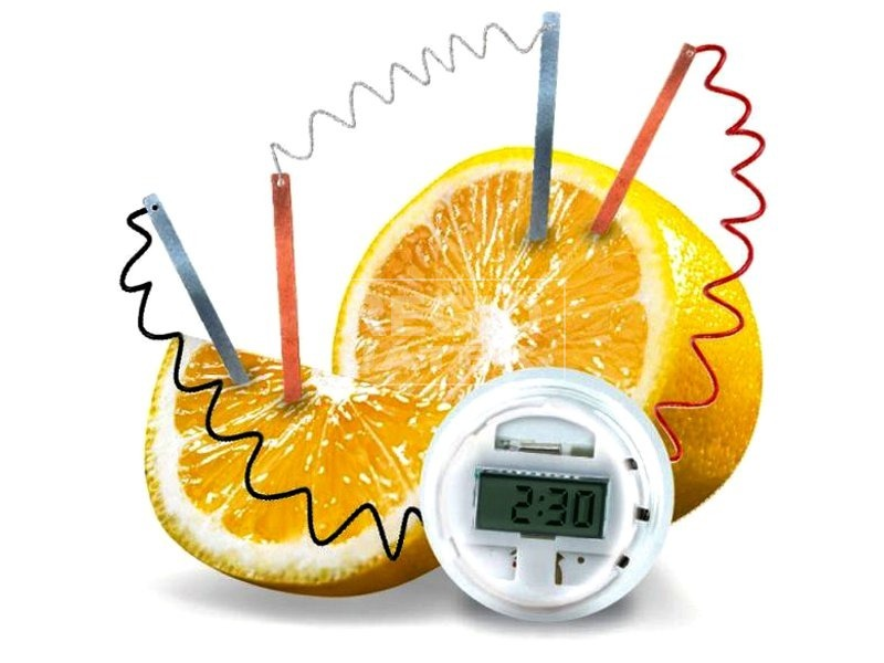 kép nagyítása 4M citrom óra készlet
