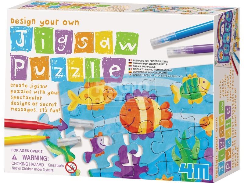 4M kifesthető puzzle készlet