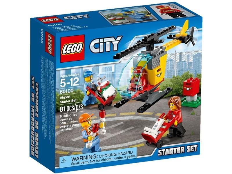 LEGO City Repülőtér kezdőkészlet 60100