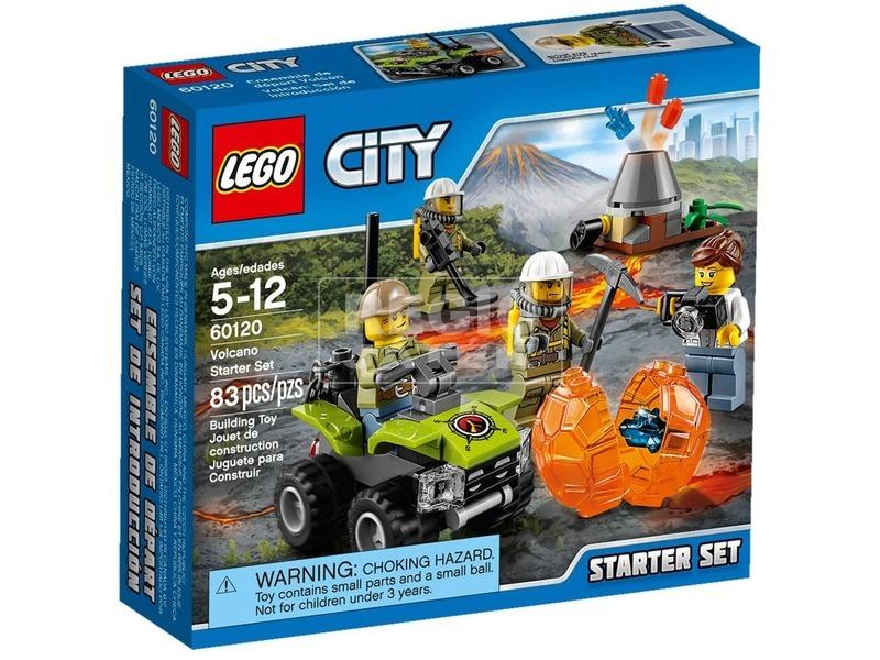 LEGO City Vulkán kezdőkészlet 60120