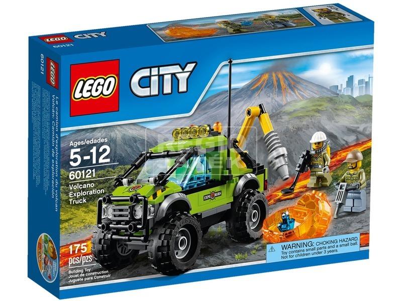 LEGO City Vulkánkutató kamion 60121