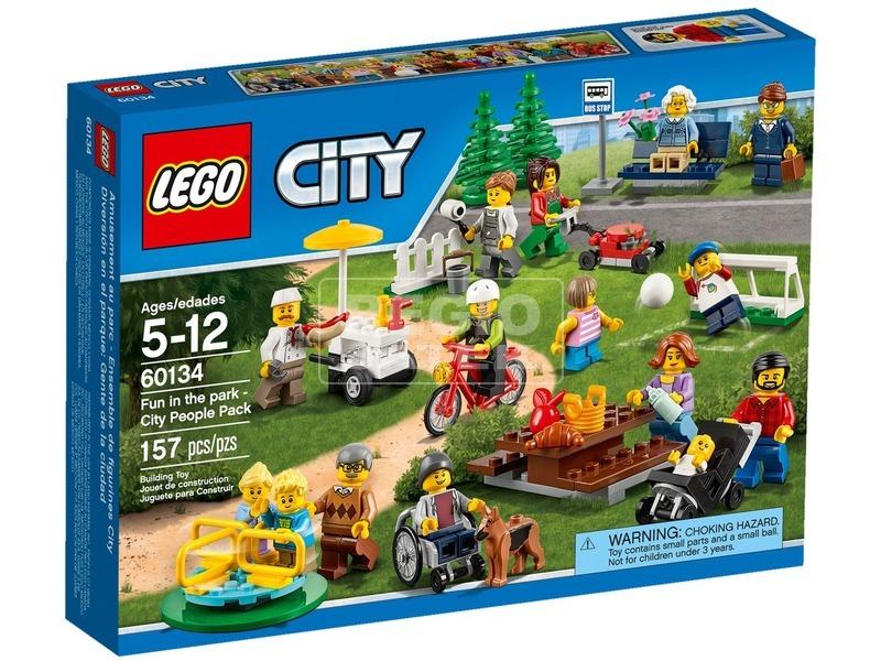 LEGO City Móka a parkban figuracsomag 60134