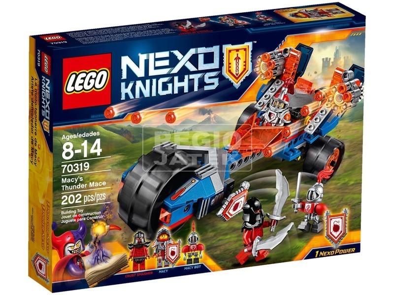 LEGO Nexo Knights Macy mennydörgő járgánya 70319