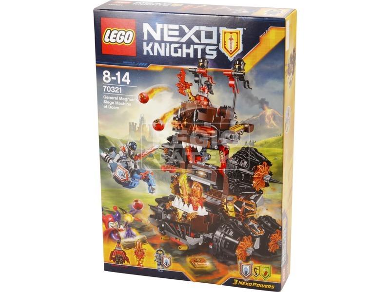 LEGO® Nexo Knights Magmar tábornok ostromgépe 70321