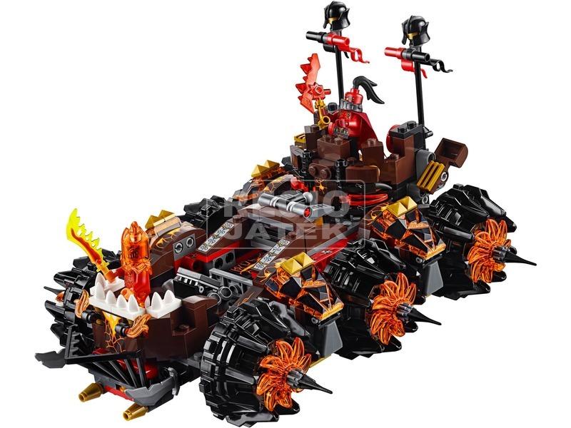 kép nagyítása LEGO® Nexo Knights Magmar tábornok ostromgépe 70321