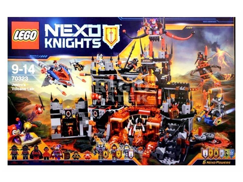 LEGO Nexo Knights Jestro vulkáni búvóhelye 70323