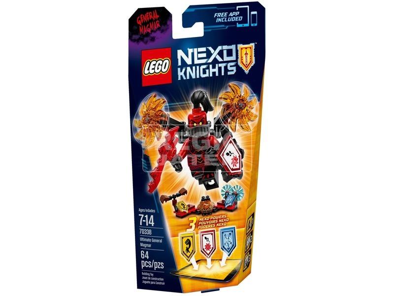 LEGO Nexo Knights Ultimate Magmar tábornok 70338
