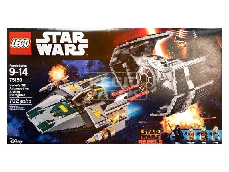 LEGO Star Wars Darth Vader TIE Fighter vs. A-Wing 75150