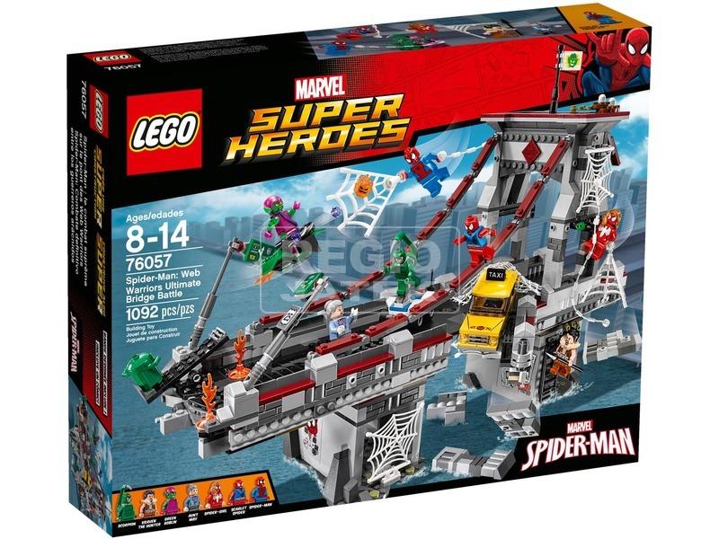 LEGO Super Heroes Pókember utolsó csatája a hídon 76057