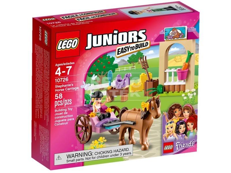 LEGO Juniors Stephanie lovas hintója 10726
