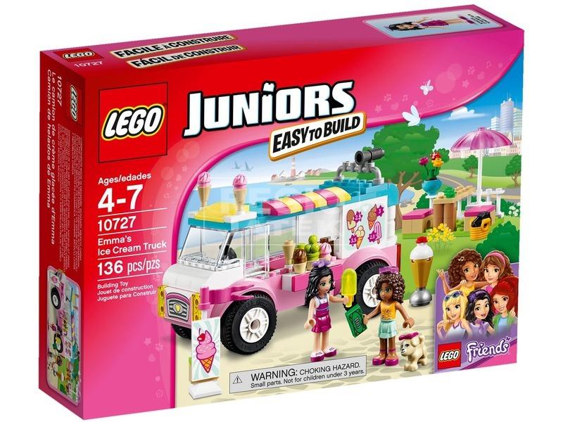 LEGO Juniors Emma fagylaltos kocsija 10727
