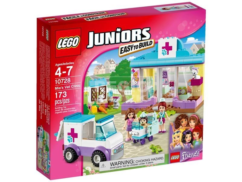 LEGO Juniors Mia állatkórháza 10728